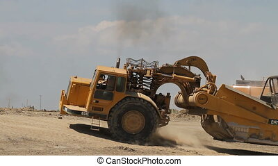 Earth moving construction