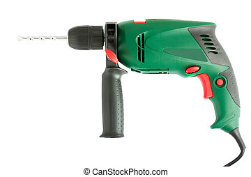 Green electric drill