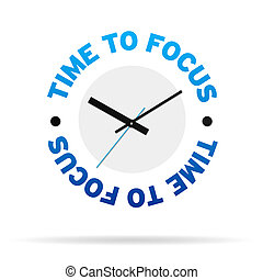 Time To Focus Clock