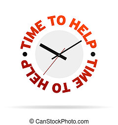 Time To Help Clock