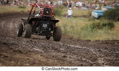 Race for baggy - Race to the well-protected sport buggy...