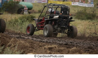 Competition buggy - Race to the well-protected sport buggy...