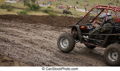 Racing Buggy - Race to the well-protected sport buggy...