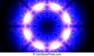 lotus flower pattern,lightning,ion collider,natural...