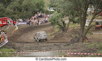 Russian jeep - Extreme off-road racing to sports cars...