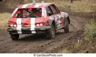 Big jump - Extreme off-road racing to sports cars special....