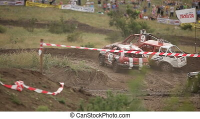 Severe accident - Extreme off-road racing to sports cars...