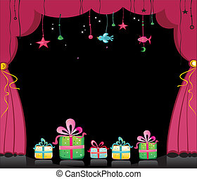 magical theater curtains