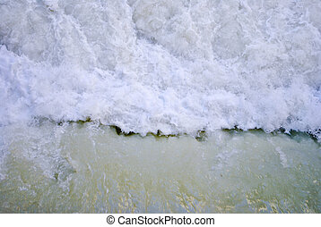 river rapids - texture river rapids and stormy