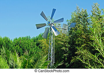 Portugal - Park windmill Portugal forest trees nature...
