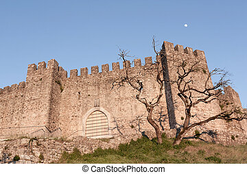 Pombal Castle Detail - Portugal - Pombal Castle Entrance...