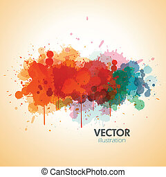 paint splat background - colorful paint splat background