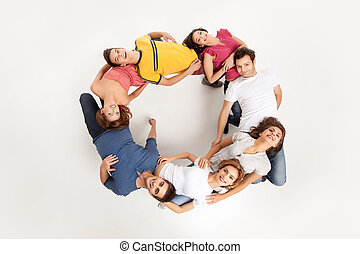 concept circle of people