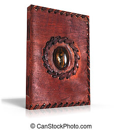 Medieval Book - a medieval book on withe