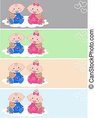 newborn baby headers
