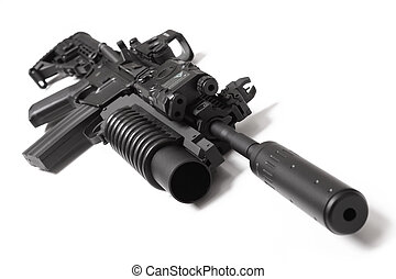 US Spec Ops M4A1 assault carbine with grenade launcher - US...