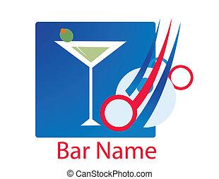 bar logo vector