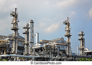 gas processing factory