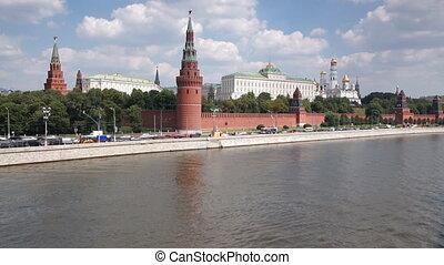 Grand Kremlin Palace and Moskva river