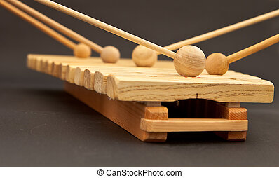 xylophone - wooden xylophone