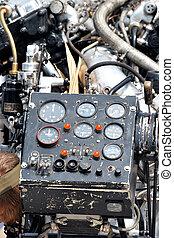 engine dials