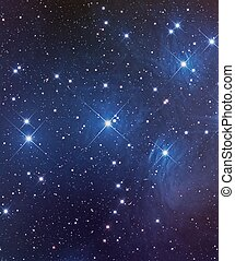 The Pleiades or Seven Sisters - The Pleiades, an Open...