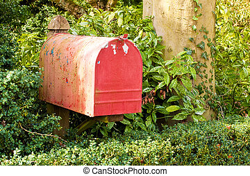 letterbox - red letterbox