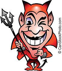 rouges, diable