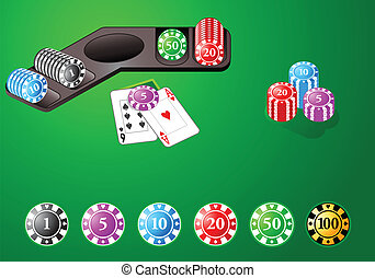 Casino design chips