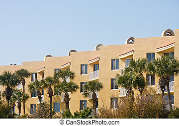 Tropical Stucco Condos