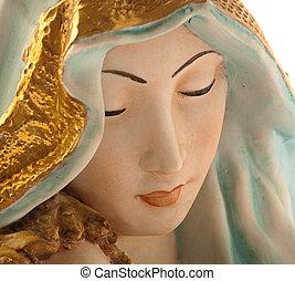 Virgen, Jesús