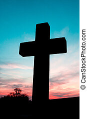 cross silhouette