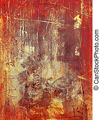 scratched paint background - scratched acrylic and oil...