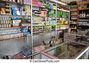 Arab pharmacy selling medical products without prescription...