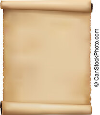 Old worn paper background Vector