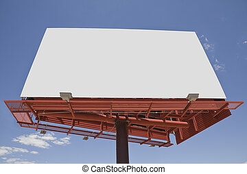 Giant Blank Billboard