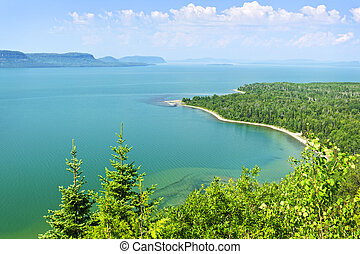 Lake Superior - Beautiful landscape of Lake Superior...