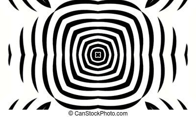 circle and ripple shaped target