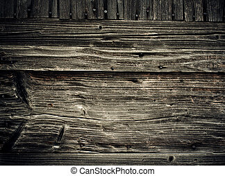 Old wooden planks. Abstract grungy background