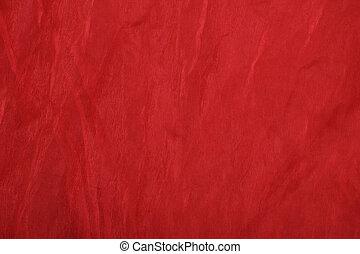 texture organza - red organza