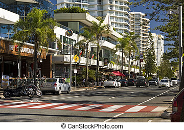 Coastal Coolangatta - Human environment: Resort style living...