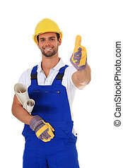 Construction worker - Competent construction worker. All on...