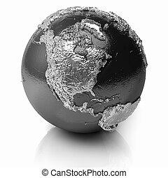 Silver Globe - North America