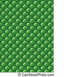 Stylization of upholstery fabric with buttons. Background.