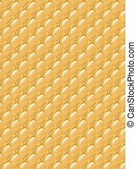 Stylization of upholstery fabric with buttons Background