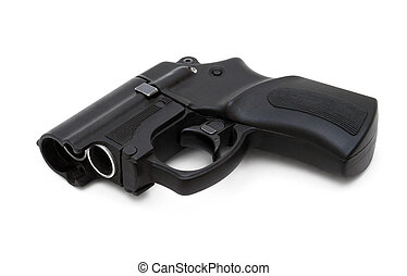 Traumatic gun - Self defense non-lethal traumatic handgun...