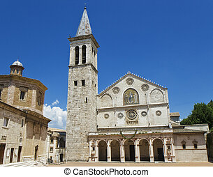 Cathedral of Spoleto, Umbria, Italy