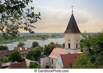 The small town Lebus in East-Germany