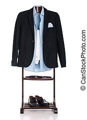 Formal clothing - formal man dressing for a celebration,...