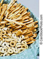 Rosquillas de pan,  breadsticks